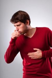potíže s dýcháním